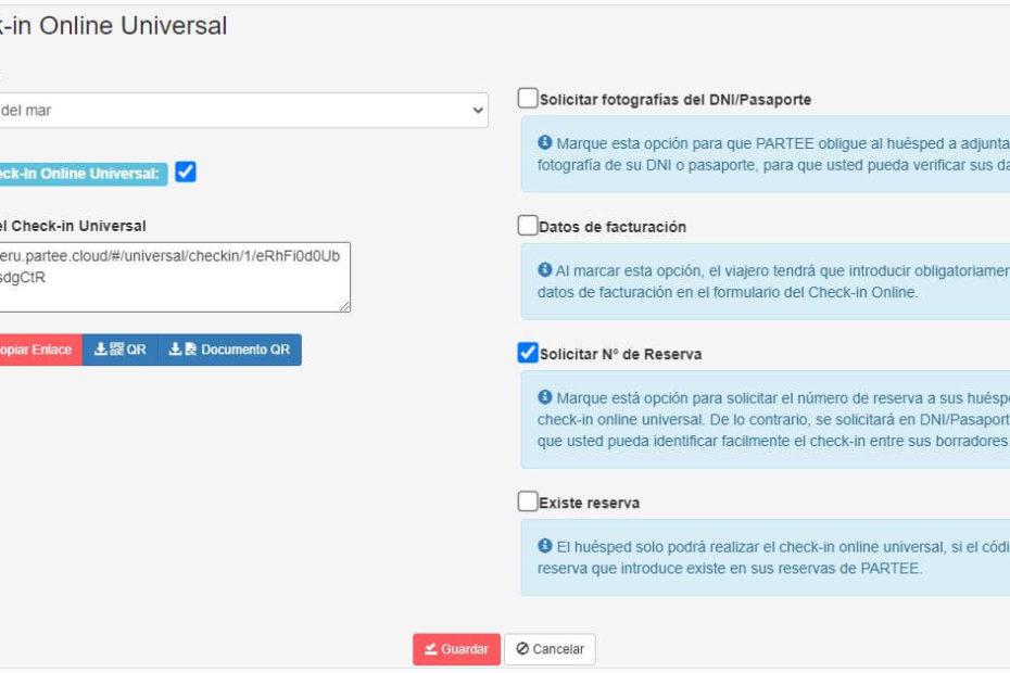 Checkin Online Universal