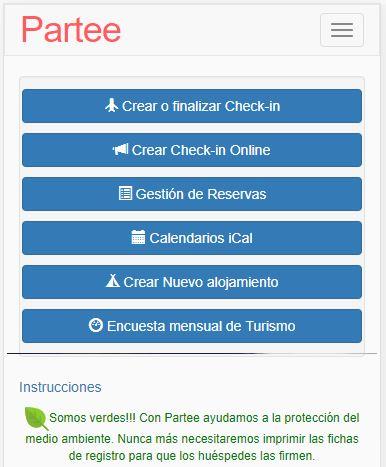 CheckIn Presencial